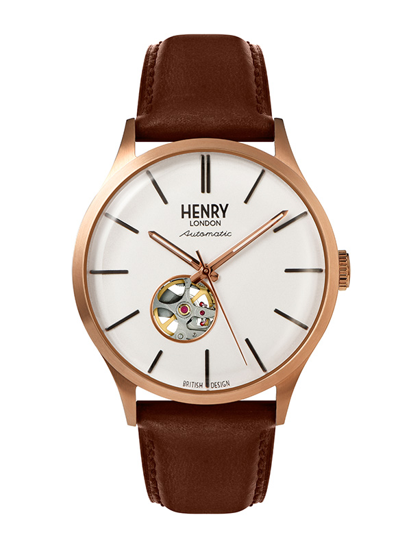 Henry London Automatic HL42-AS-0276