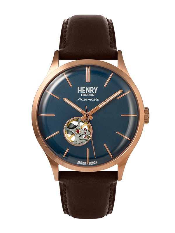 Henry London Automatic HL42-AS-0278