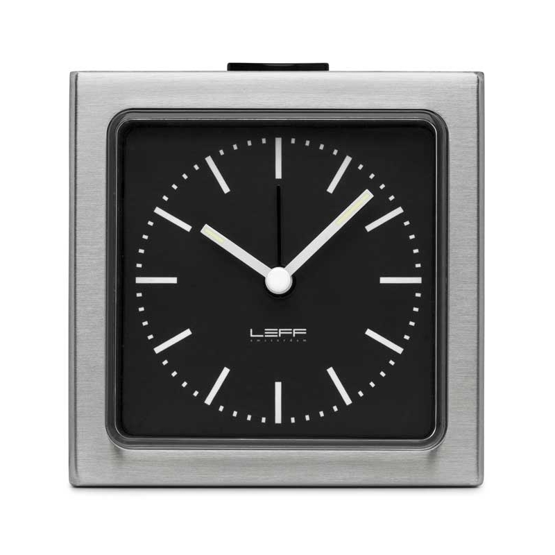 Leff Amsterdam Block Steel Black Index LT90101