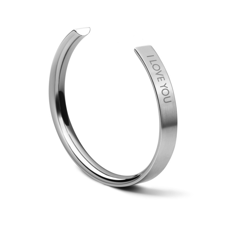 TRIWA Armand Unisex Bracelet NO 1 - Steel Love